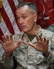 Gen. Joseph Dunford, US commander in Afghanistan
